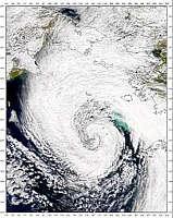 Bering Sea Low Pressure System - selected image