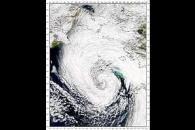 Bering Sea Low Pressure System