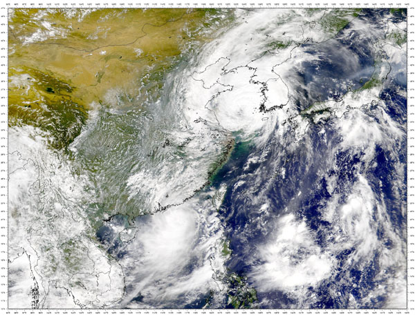 Typhoon Prapiroon and Tropical Storm Maria - related image preview