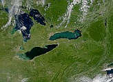 Lakes Erie and Ontario - selected image