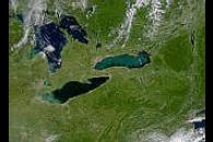 Lakes Erie and Ontario