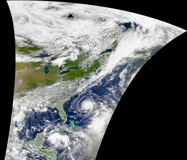 Hurricane Florence and Eastern U.S. - related image preview