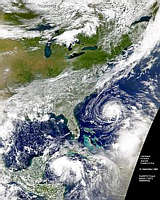 Hurricane Florence and Eastern U.S. - selected image