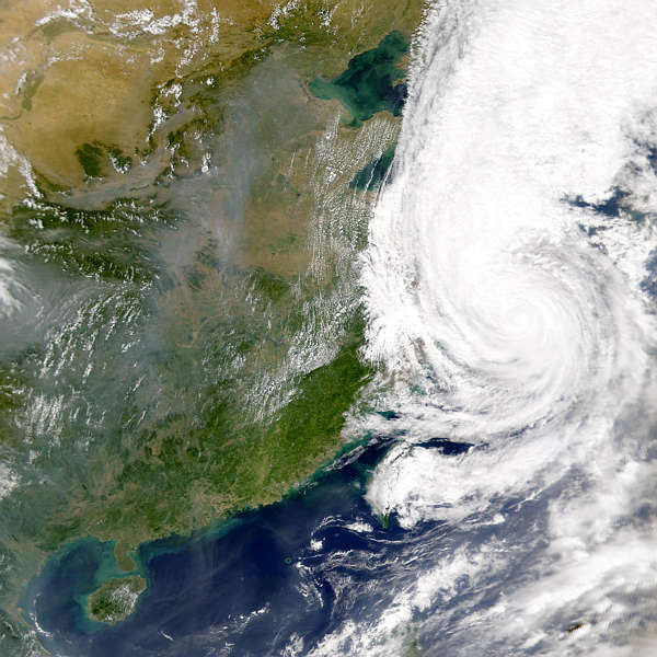 Typhoon Saomai; China Pollution - related image preview