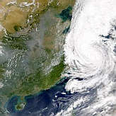 Typhoon Saomai; China Pollution - selected image
