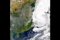 Typhoon Saomai; China Pollution