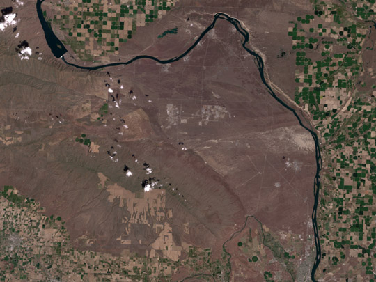 Hanford, Washington Before Fires - related image preview