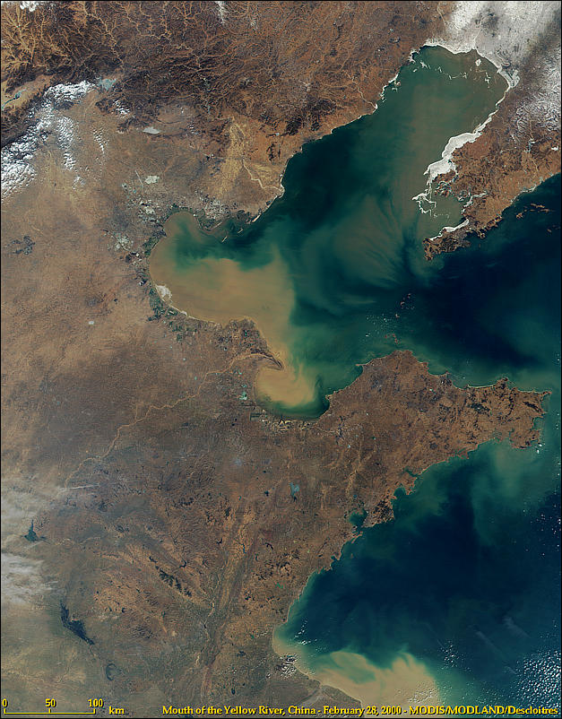 Mouth of the Yellow River, China - related image preview