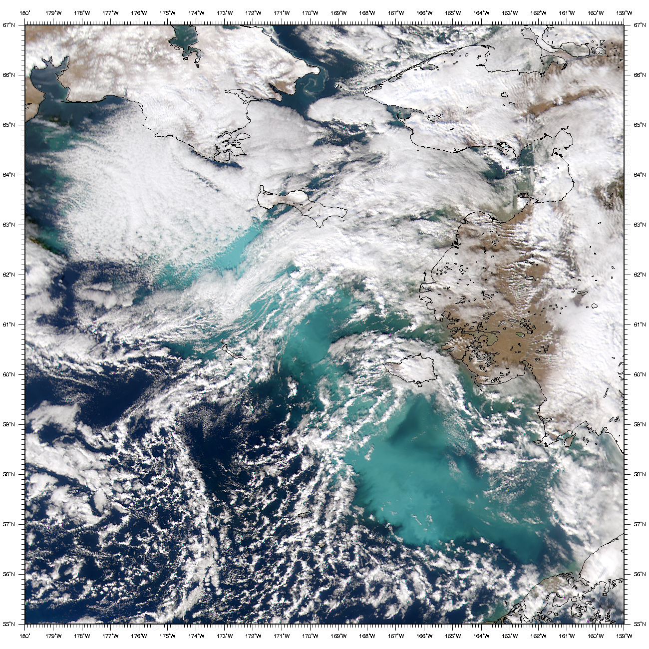 SeaWiFS: Bering Sea - related image preview