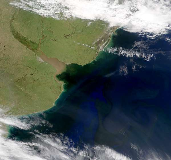 NASA Visible Earth: SeaWiFS: Rio de la Plata