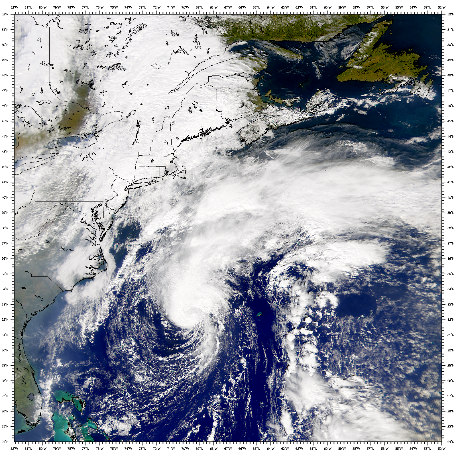 SeaWiFS: Hurricane Michael - related image preview