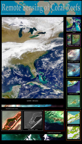 Researching Coral Reefs from Space (Poster) - related image preview