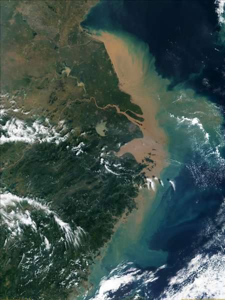 MODIS: Mouth of the Yangtze - related image preview