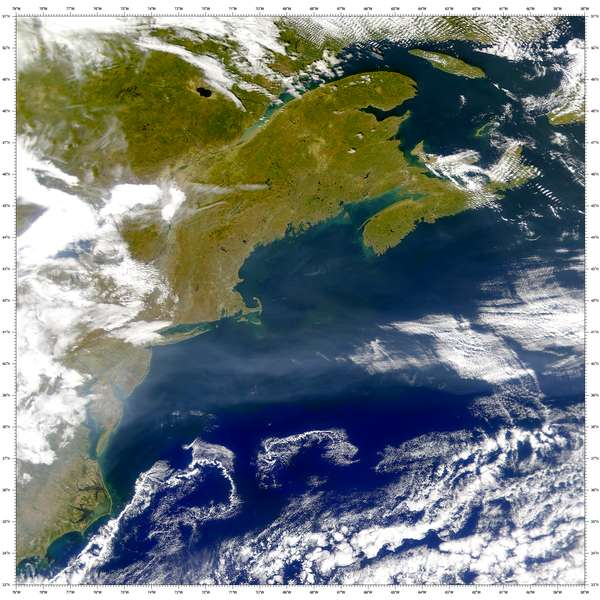 SeaWiFS: Gulf Stream - related image preview