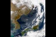 SeaWiFS: Haze Over Sea of Japan