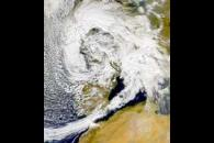 SeaWiFS: European Storm