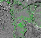 Tectonic Map of North Pole - selected image