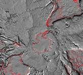 Tectonic Map of South Pole - selected image