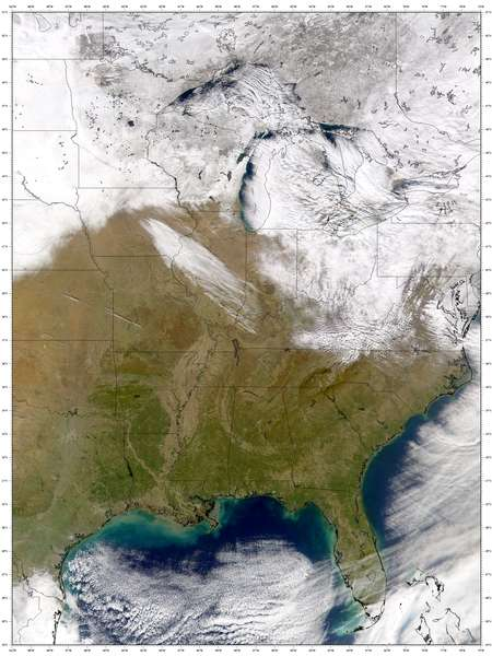 SeaWiFS: Central U.S. and Canada - related image preview