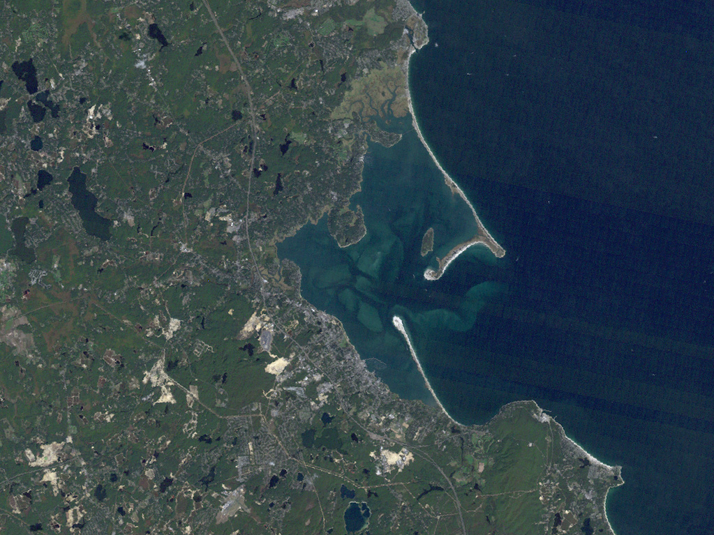Landsat: Plymouth, Mass. - related image preview
