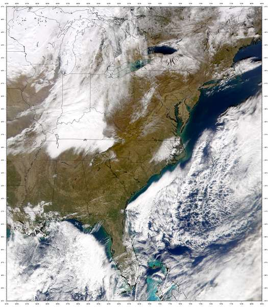 SeaWiFS: North Carolina Snowfall - related image preview