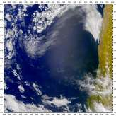 SeaWiFS: Juan Fernandez Islands and Sunglint - selected child image