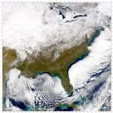 SeaWiFS: Eastern U.S. after snowfall - selected image