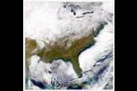 SeaWiFS: Eastern U.S. after snowfall