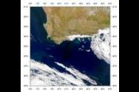 SeaWiFS: Blooms off South Africa