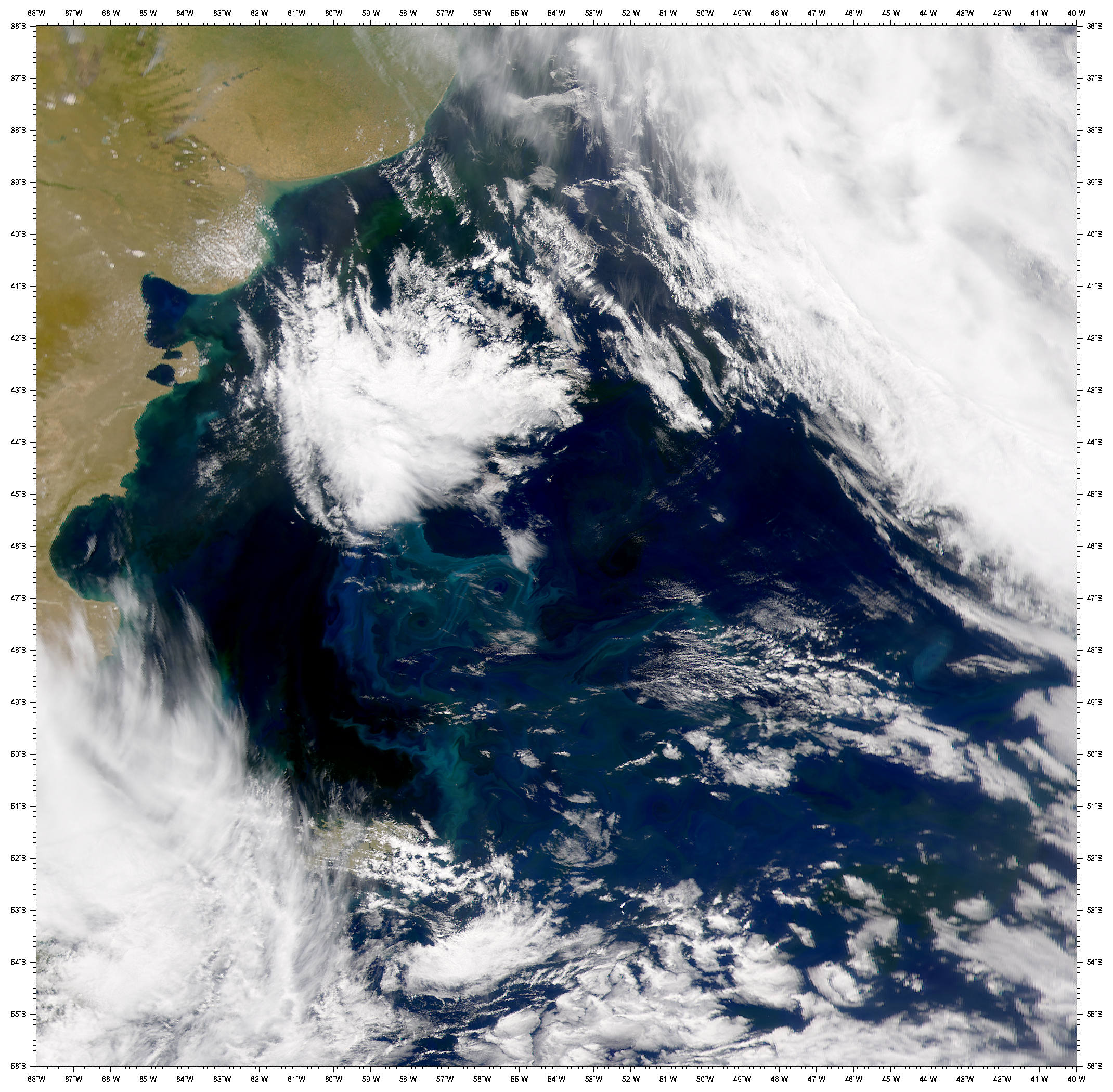SeaWiFS: Eddies over the Argentine Basin - related image preview