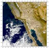 SeaWiFS: Viejas Wildfire - selected image
