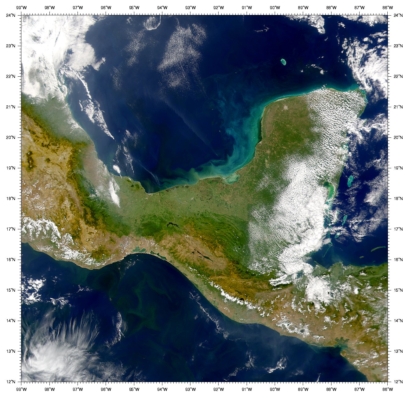 Bay of Campeche and Gulf of Tehuantepec - related image preview