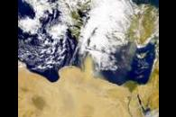 SeaWiFS: Dust Storm Approaches Crete