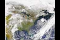 SeaWiFS: Haze over Eastern United States and Canada
