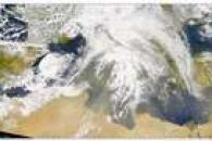 SeaWiFS: Dust in the Mediterranean