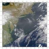 SeaWiFS: Hazy Skies over the U.S. Mid-Atlantic Coast - selected image