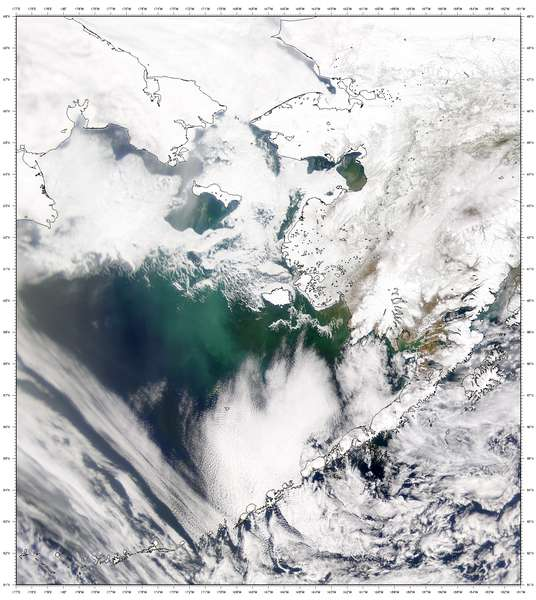 SeaWiFS: The Bering Sea - related image preview