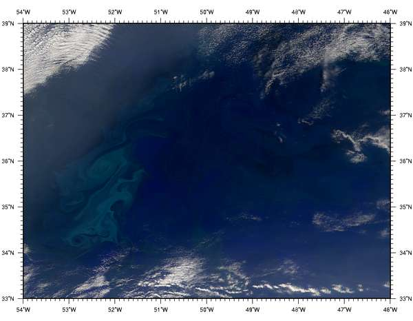 SeaWiFS: North Atlantic Bloom - related image preview