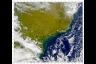 SeaWiFS: Turbid Waters Along the Coast of Southern Brazil