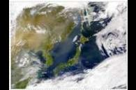 SeaWiFS: Heavy Haze over East Asia