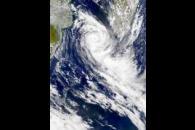SeaWiFS: Cyclone Dera
