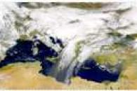 SeaWiFS: Dust over the Mediterranean Sea
