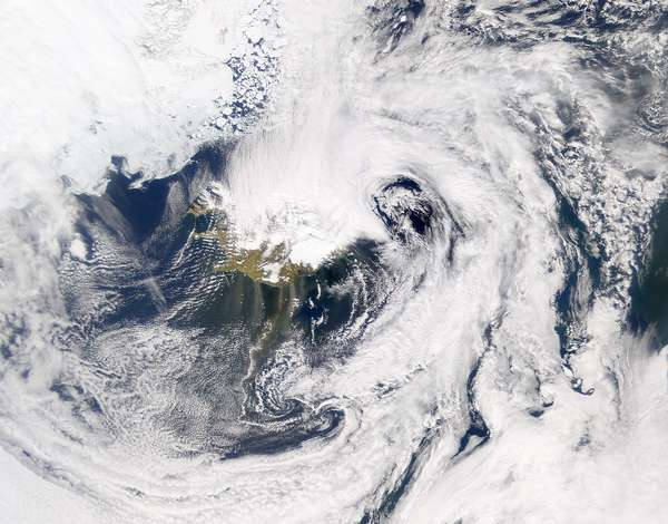 SeaWiFS: Dust Blowing out of Iceland - related image preview