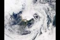 SeaWiFS: Dust Blowing out of Iceland
