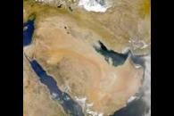 Sea-WiFS: Iran/Iraq Dust Storm