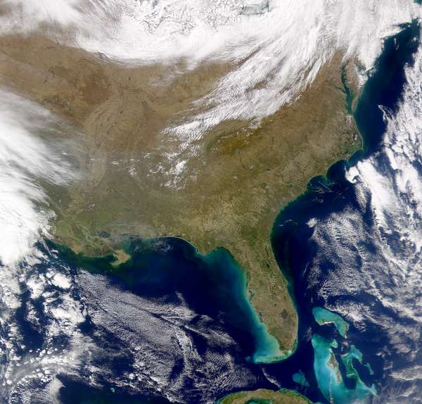 SeaWiFS:  Southeastern United States - related image preview