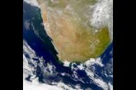 SeaWiFS:  Phytoplankton Blooms along the South African Coast