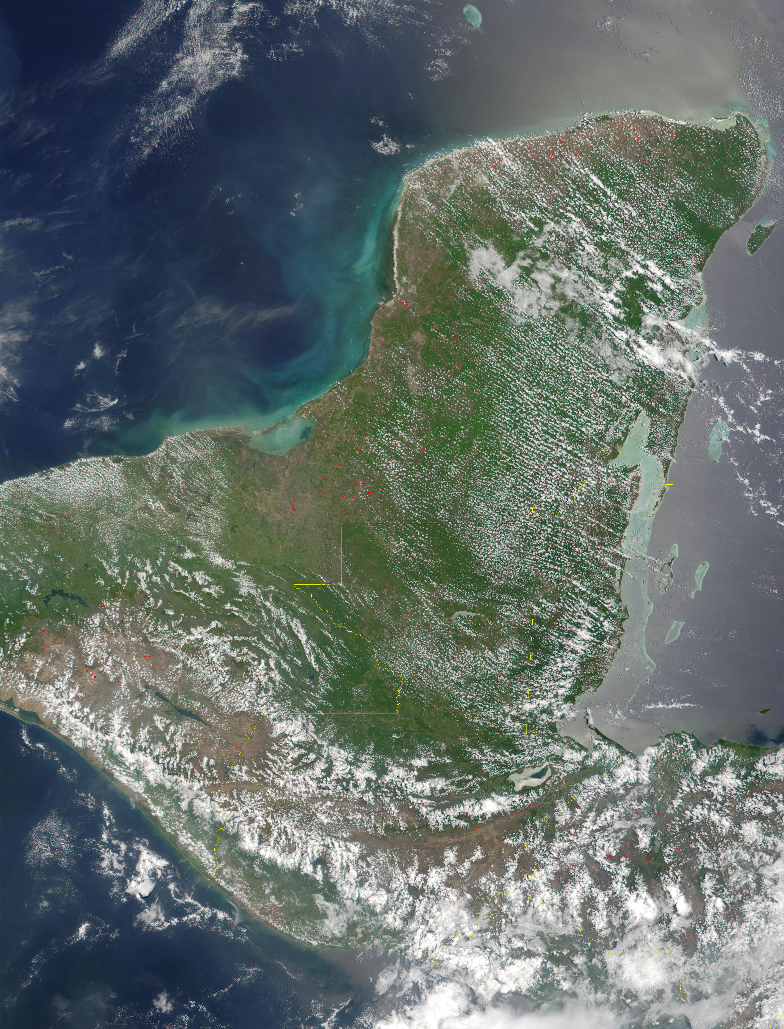 Fires in Mexico, Guatemala, and Honduras - related image preview