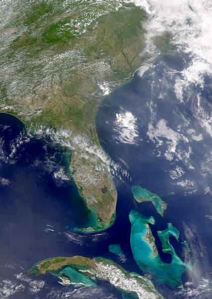 SeaWiFS: Fires in the Southeastern United States - related image preview