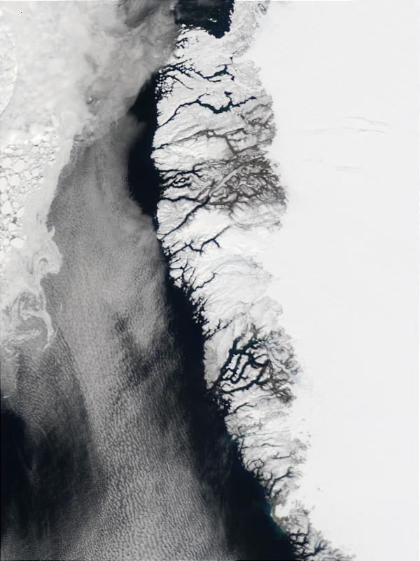 Southwest coast of Greenland and Davis Strait - related image preview